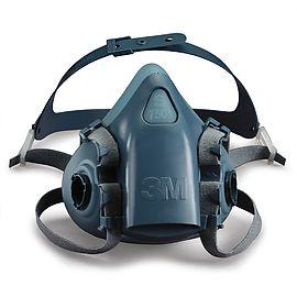 Demi-masque réutilisable - 7500