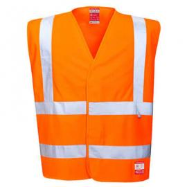 High visibility Anti Static Vest - Flame Resistant - FR71