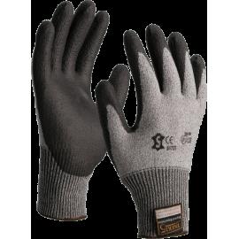 Taeki 5 glove with black PU coated palm - 5172T