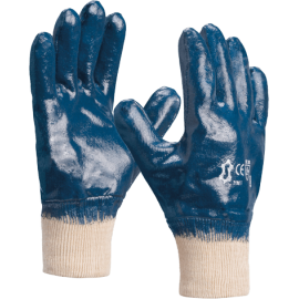 Nitrile gloves with a double layer - 2190