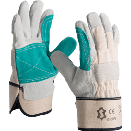 Splitleather Canadian glove with reinforcement - 1015RFG