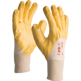 A-quality nitrile dipped glove - 9013Y