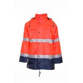 Parka High Visibility Orange/Navy - 2056