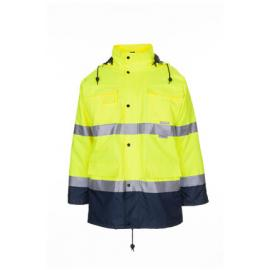Parka High Visibility Yellow/Navy - 2057