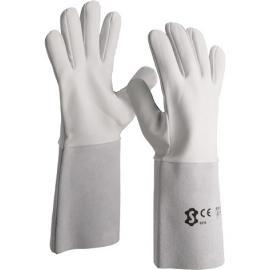 Nappa leather Argon welding gauntlet - 3210