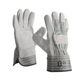 Splitleather Canadian gloves with palm reinforcement - 1015TR