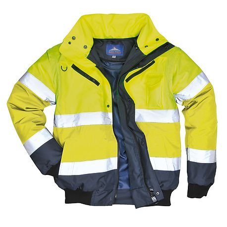 HV bomber jacket Yellow/Navy - C465 - PORTWEST