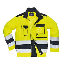 Lille HV jacket Yellow/Navu - TX50