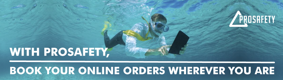 Book your online orders  wherever you are